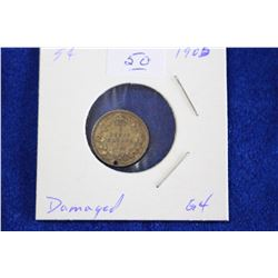 Cda Five Cent Coin (1) - 1905, ND