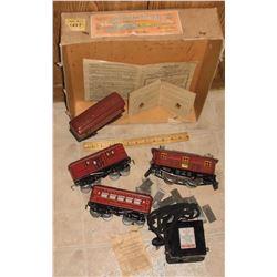 Cat No1217 Made In America American Flyer Electric Railroads MrgCo Chicago Ilinois USA antique train