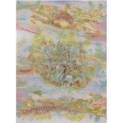 """peinture originale LangdonArt Réalité ou Rêve 16hx12"""" LangdonArt original painting Dream or Reality"""