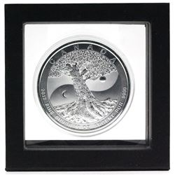2017 Canada 10oz Tree of Life .9999 Fine Silver Coin in Magic Window Frame. (TAX Exempt)
