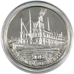 Scarce! 1oz University of Alaska Museum Commemorative .999 Fine Silver Medallion Featuring the S.S.