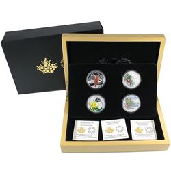 2015 Canada $20 Forests of Canada 4-Coin Set in Deluxe Box. (TAX Exempt)