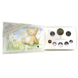 2006 Baby Sterling Silver Proof Set with Special Medallion and Loon.
