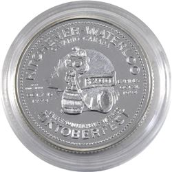 1994 Kitchener-Waterloo .999 Fine Silver Oktoberfest $2.00 Token. Coin is lightly toned(Tax Exempt)*