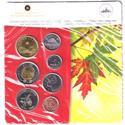 2012 Calgary Alberta Royal Canadian Numismatic Association Convention 6-coin and Medal set. Card num