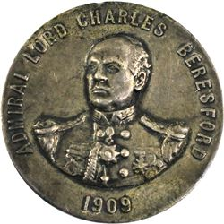1909 Toronto Industrial Exhibition Association Medal with Admiral Lord Charles Beresford. By P.W. El