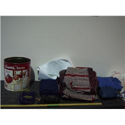 Air Mattresses, Seat Cover, Kodak Camera and Misc