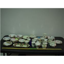 Misc Dishware Chinaware Cups and Saucers and Royal Albert with Others