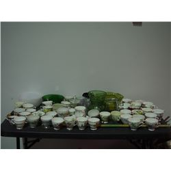 Lot of Chinaware, Cups, Saucers, Bowls and Misc