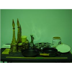 Skillet, Pan, Decorative Items and Misc