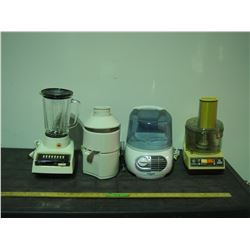 Juicer, Food Processor, Humidifier and Misc