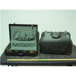 Doctors Bag and Suitcase