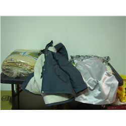 Winter Jacket Size 4, Dress Size 4, Table Cover and Misc