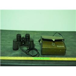 Binoculars - No Markings with Bushnell Case
