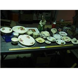 Lot of Misc Chinaware and etc.
