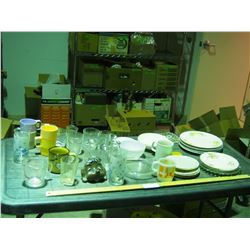 Lot of Glassware and Chinaware