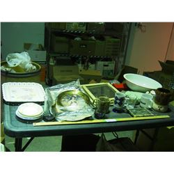 Decorative Items, Chinaware and Misc