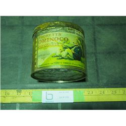 One Half Pound Vintage Tucketts Orinoco Tobacco Tin