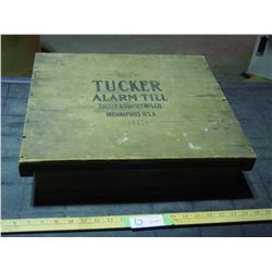 Tucker Alarm Till (wooden) - Stuck Closed 18 by 16""