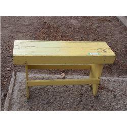 """Vintage Wooden Bench 31"""" L"""