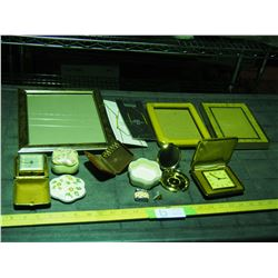 Picture Frames, Clocks and Misc