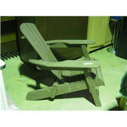 Wooden Lawn Chair Folding