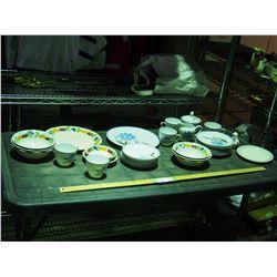Hand Painted Underglazed China and Royal Tudorware China
