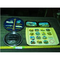 Collector Advertising Trays