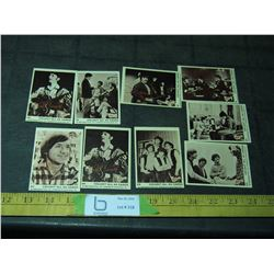 9 1966 Monkees Cards