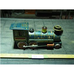 "Vintage Tin Toy Train (Battery Operated) 12.5"" L"