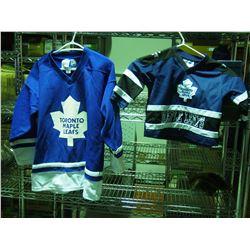 2X THE MONEY - Size 2 and CL Kids Toronto Maple Leaf Jerseys