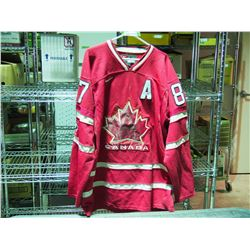 Nike Size Large Vancouver 2010 Olympics Canada Crosby Jersey
