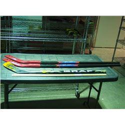 3 Hockey Sticks