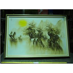"""Oil Painting on Canvas in Frame 40 x 28"""""""