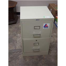 """2 Drawer Metal Filing Cabinet 29.5"""" T"""