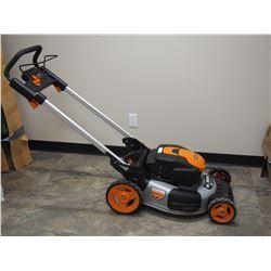 """WRX 19"""" 56V Mat Lithium Lawn Mower (Needs Battery)"""