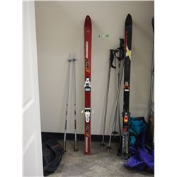 2X THE MONEY - 2 Pairs of Ski Poles and Bags