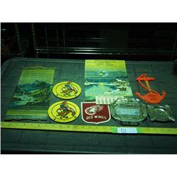 Vintage Redwing Patches, Plus Advertising Piece