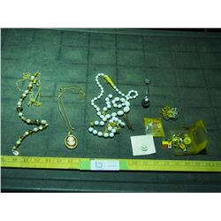 Costume Jewelry, Pins and Misc