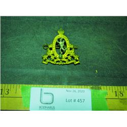 Royal Canadian Corps of Signals Hat Badge