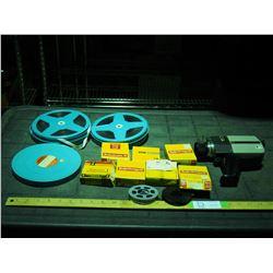 Gaf Anscomatic (Movie Camera?), Super 8 Film and Film Reels