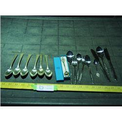 Peerless Silver Plate Cutlery Plus Other Cutlery