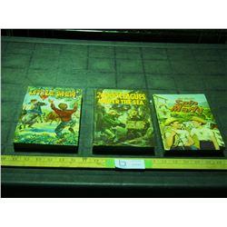 3 Vintage Kids Books