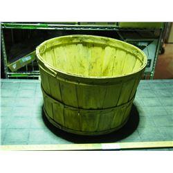 Wooden Apple Basket