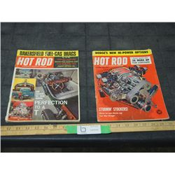 2X THE MONEY - Hot Rod Magazines 1961, 1965