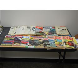 Car Magazines, Popular Science and Popular Mechanics Magazines (Some Poor Condition)