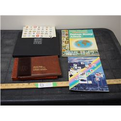1984 Royal Mail Stamp Book with Stamps, Olympic 1976 Stamp Collection with Stamps and Others