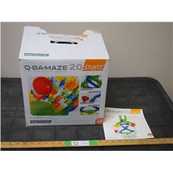 Q-BA-Maze 20 The Next Generation Marble Maze Toy Game with Instruction Manual