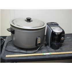 Panasonic Cooking Pot Electric and Bosch Coffee Maker (No Pot)