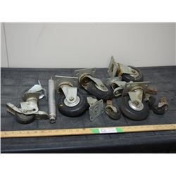 Casters Assorted Sizes